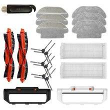 19 pacote de acessórios kit para xiaomi mijia roborock styj02ym aspirador robótico peças reposição
