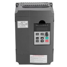 220V Single-phase Variable Frequency Drive VFD Speed Controller for 3-phase 1.5kW AC Motor Inverter Motor Drive