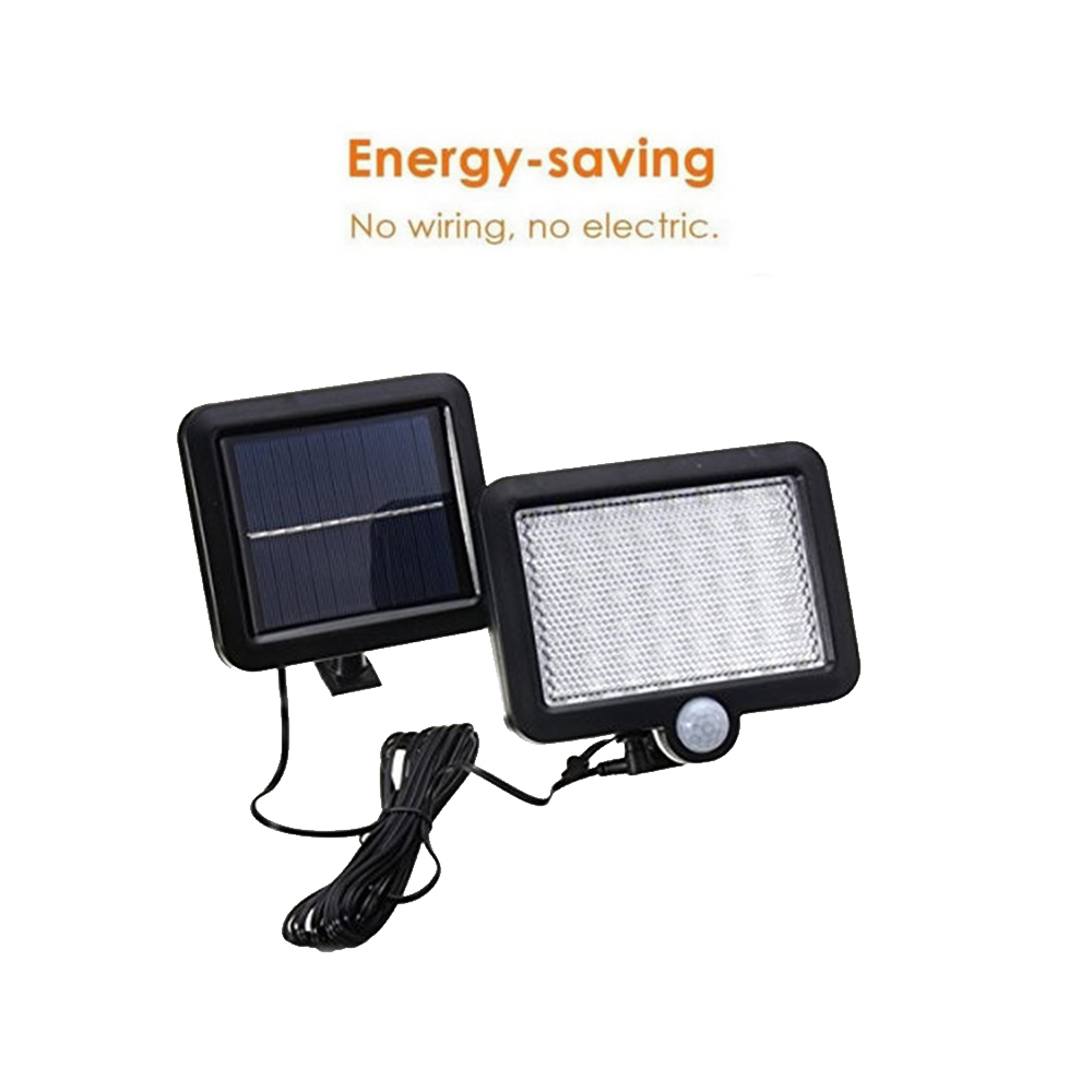 Solar Street Light Outdoor 56/30 LED PIR Motion Sensor Solar Lamp Outdoor Light Wall Lamp Waterproof Energy For Home Garden Spli