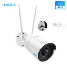 Reolink RLC 410W 4MP 2560X1440 2.4G & 5G Surveillance Outdoor Wifi Camera Hd Ip Camera Draadloze Weerbestendige security Camera