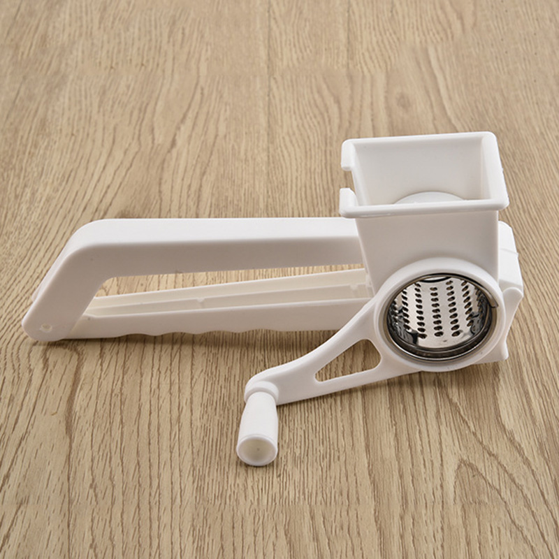 <font><b>Rotary</b></font> <font><b>Cheese</b></font> <font><b>Grater</b></font> Stainless Steel Blades Easy Cleaning for <font><b>Cheese</b></font> Nuts Chocolate Best Price HFing image