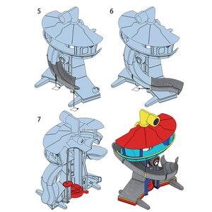 Image 5 - Patte Patrol jouets pour enfants, Base de sauvetage, Center de commandement, patrouille de chiots, ensemble de figurines de dessin animé, modèle, cadeau pour enfants