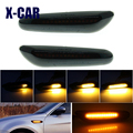 IP67 2 шт. светодиодный динамический течет поворотов боковые габаритные светильник мигалки лампы для BMW E60 E61 E90 E91 E81 E82 E88 E46 X3 X1