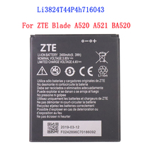 100% High Quality 2400mAh Li3824T44P4h716043 Battery For ZTE Blade A520 A521 BA5
