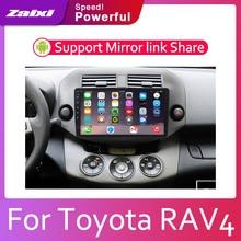 цена на ZaiXi Android 2 Din Car radio Multimedia Video Player auto Stereo GPS MAP For Toyota RAV4 RAV 4 2006~2012 Media Navi Navigation