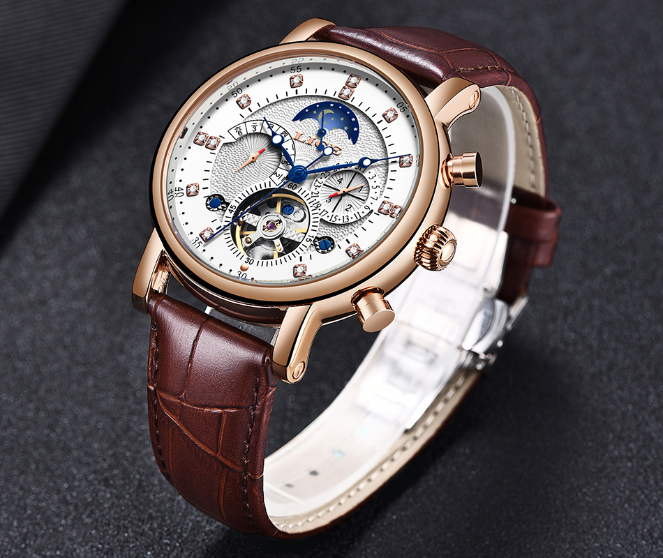 H72d6f5ecaec6449a806c3305c4a71367v LIGE Gift Mens Watches Brand Luxury Fashion Tourbillon Automatic Mechanical Watch Men Stainless Steel watch Relogio Masculino