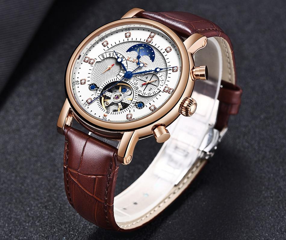 H72d6f5ecaec6449a806c3305c4a71367v LIGE Gift Mens Watches Brand Luxury Fashion Tourbillon Automatic Mechanical Watch Men Stainless Steel watch Relogio Masculino