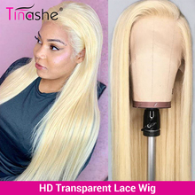 Tinashe 13x6 613 Blonde Lace Frontal Wig Bone Straight HD Transparent Lace Wigs For Women Human Hair 180 Density 4x4 Closure Wig