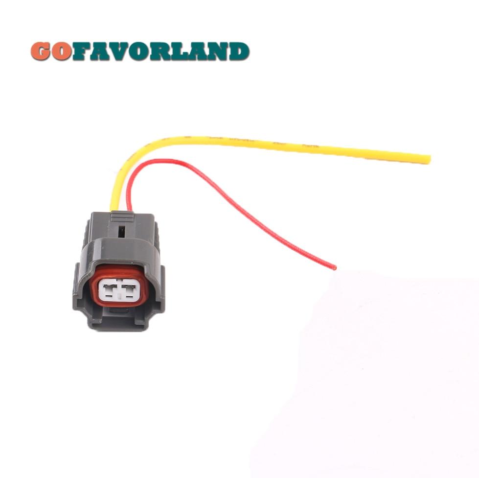 Chicote de fios 06a973722 da tomada do conector do injetor de combustível de 2 pinos para vw golf jetta polo para audi a4 a6 para skoda para seat