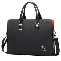 FGGS YUESKANGAROO Men's Business Messenger Bags Handbag Men Crossbody Bag Laptop Bag Laptop Briefcase for Men Shoulder Bags Blac