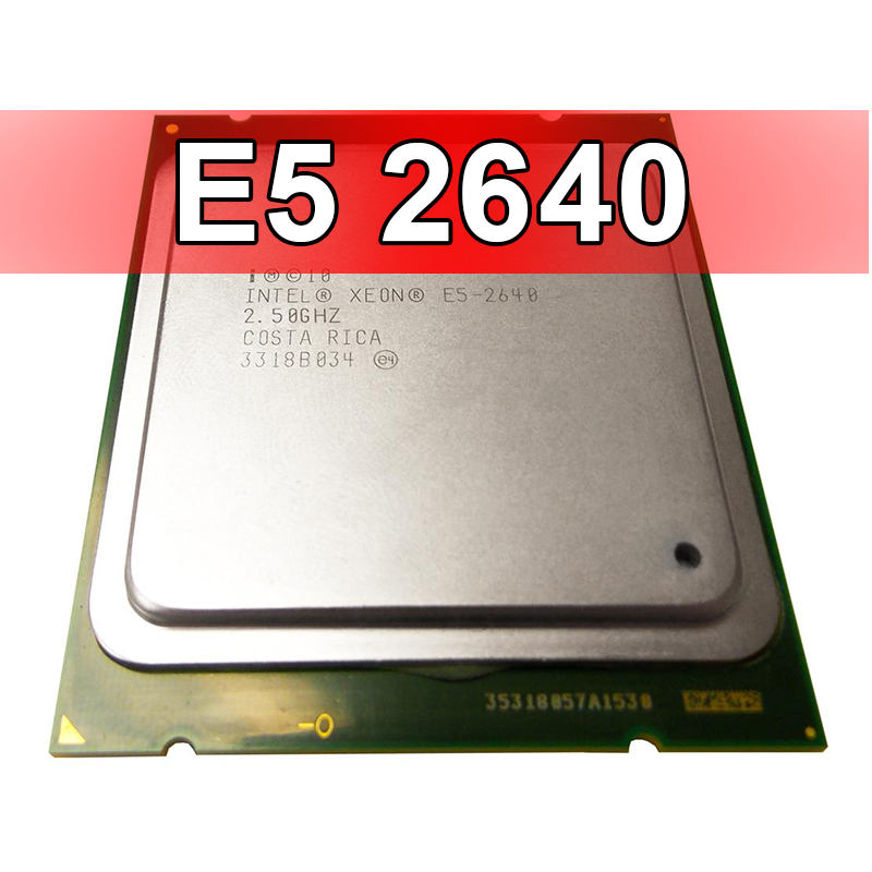 Intel Xeon E5 2640 Socket 2011 LGA2011 Hexa 6 Core Processor CPU