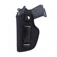 Universal tático arma coldre escondido carry holsters cinto clipe de metal iwb owb coldre airsoft arma saco para todos os tamanho