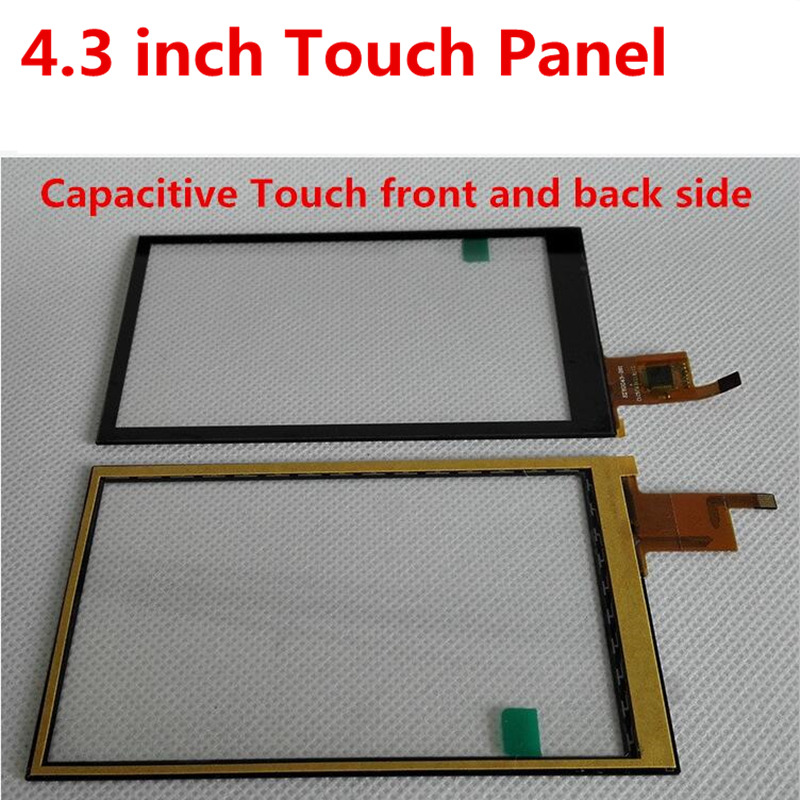 IPS 4.3inch TFT LCD Module With Adapter PCB Base Board Capacitive TP Touch Panel 480*800 Screen Display NT35510 Driver MCU 8080
