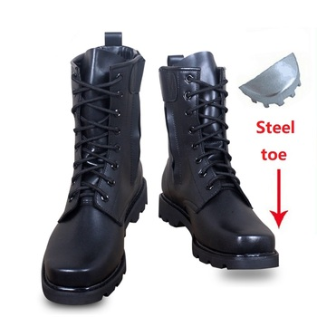 Work Safety 2019 Army Boots Male winter Tactical Boots Delta SWAT Shoes Male Steel Toe Military Desert Men Hiking Boots