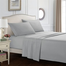 Pillowcases Sheet-Set Coverlet Flat-Bed-Cover Fitted No-Filler/quilt-Cover Solid 4-In-1
