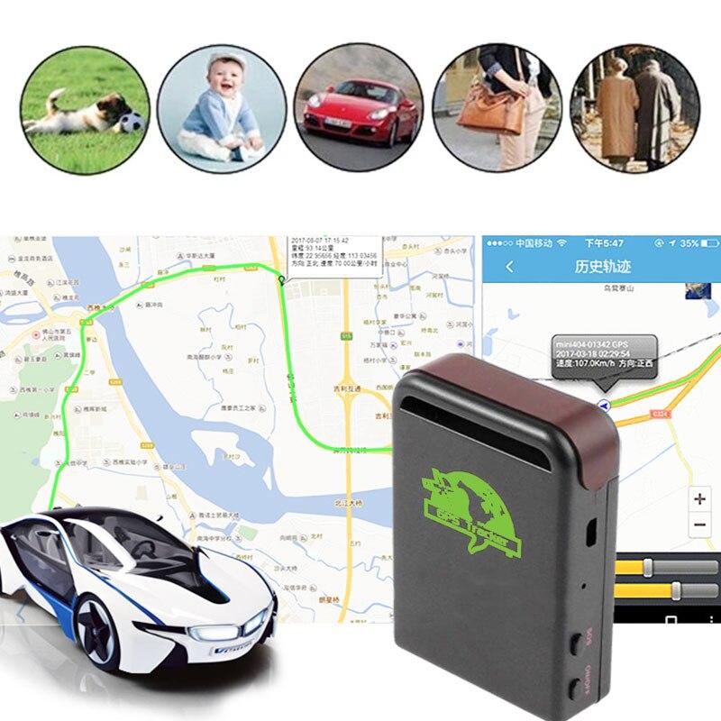 102-NANO Mini Car Vehicle GPS Tracker TK102 Rechargeable Portable Precise