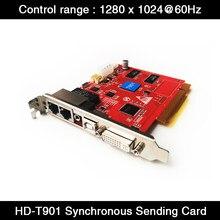 Huidu Synchronous Full Color LED Screen Sending Card HD-T901 Work with HD-R Series Receiving Card HD-R612/R500/R512/R516/R508