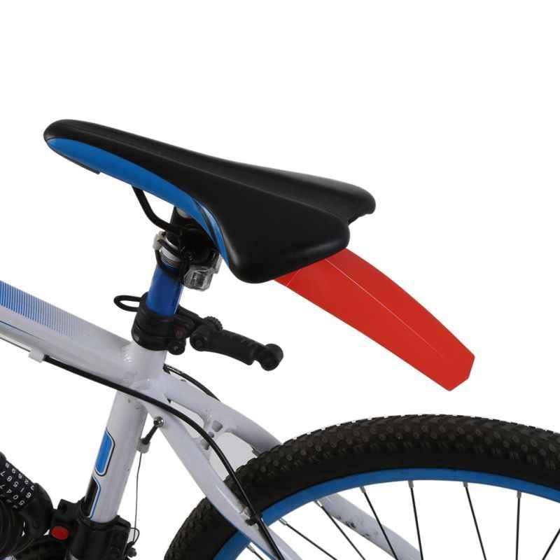 5 ألوان دراجة دراجة درابزين ركوب سباق الجبلية الطريق الدراجات الركاب السرج الحمار أجزاء للإزالة اكسسوارات الخلفي دراجة أجنحة