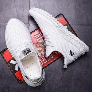 Image 5 - Мужская повседневная обувь; Сезон весна; Сетчатые кроссовки; Черная обувь для бега; Сезон лето; Новинка; Низкая цена; Sapatos De Mujer; Модный светильник; Дышащая мужская обувь