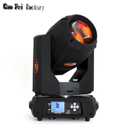 350w Zoom Moving head lichtstraal 17R bewegende spot Gobo/kleur/wassen met 16 + 24 Prisma DMX DJ Party Touch Screen