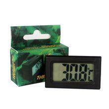 Мини цифровой ЖК-дисплей беспроводной электронный термометр ящик для рептилий детектор температуры устройства C42
