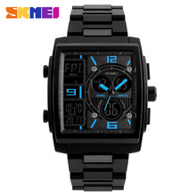 SKMEI Fashion Casual Watch Multifunctional Dual Display Watches