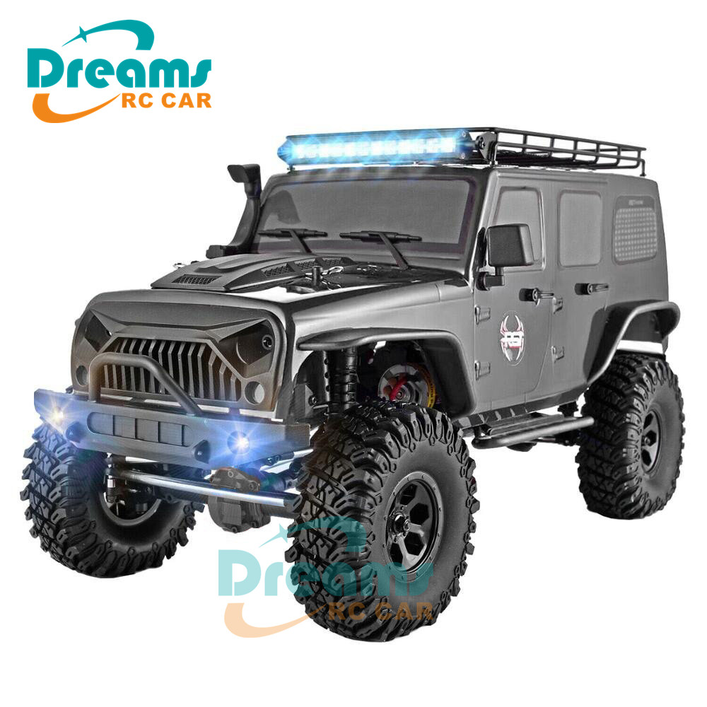 RGT RC Crawler 1:10 Scale 4wd RC Car Off Road Truck RC Rock Cruiser EX86100 Hobby Crawler RTR 4x4 Waterproof RC Toys image