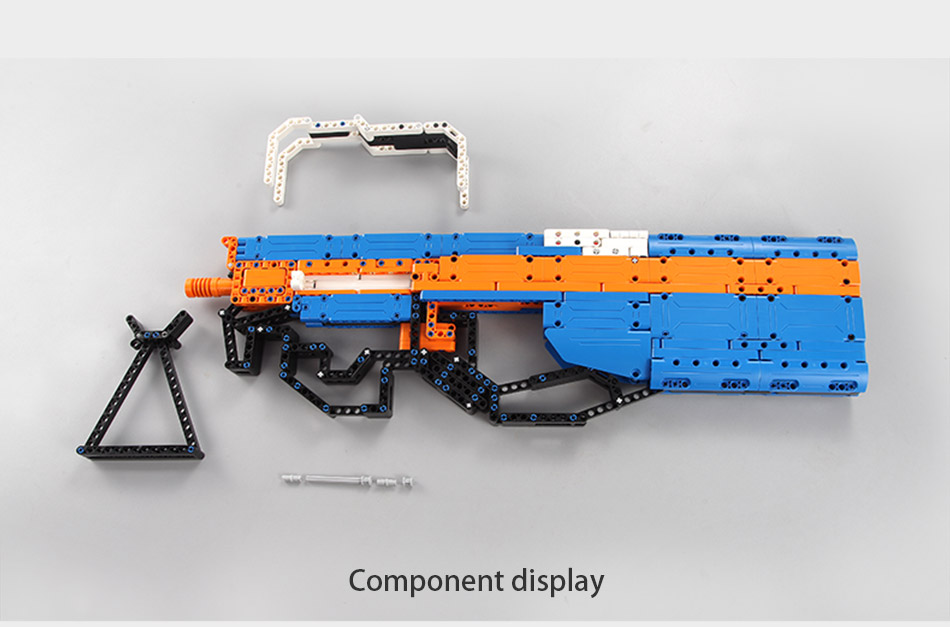 Cada c81003 block gun p90 assault rifle
