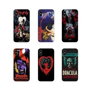 Para Samsung Galaxy J1 J2 J3 J4 J5 J6 J7 J8 Plus 2018 Prime 2015 2016 2017 Dracula Filme de Terror Acessórios Phone Cases Covers