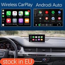 واجهة سيارة Apple CarPlay اللاسلكية ، مع وظائف الكاميرا ، HDMI ، USB ، لأودي Q7 2016 2019