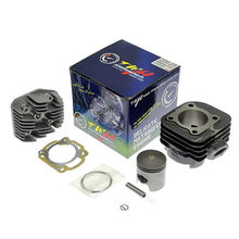 For YAMAHA JOG50 3YK/3KJ AXIS90 ZR/EVOLUTION Motorcycle Scooter Cylinder Piston Cylinder Head kit 50cc to 90cc Cylinder 48mm TWH