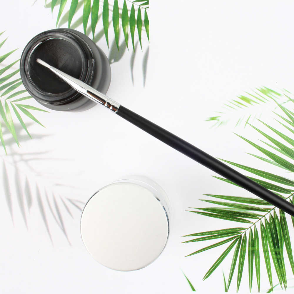 Professionele Make-Up Eyeliner Borstel Eye Brow Lip Borstel Vrouwen Duurzaam Multipurpose Cosmetische Smudge Tool Nieuwe Maquiagem TSLM1