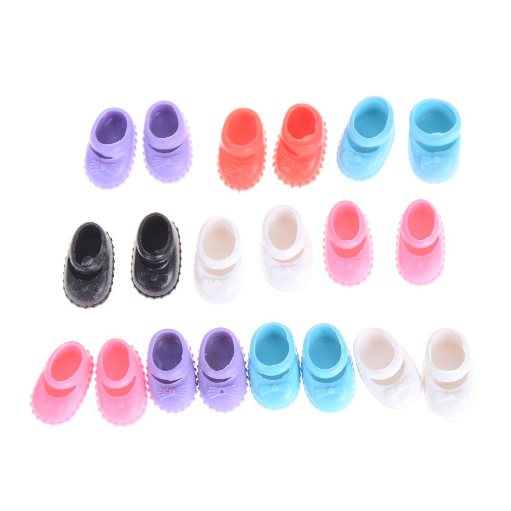 5 Pairs For Kelly Doll Confused Doll Shoes Kids Gift Toy 12cm Best Gift For Girl Doll Shoes Accessories
