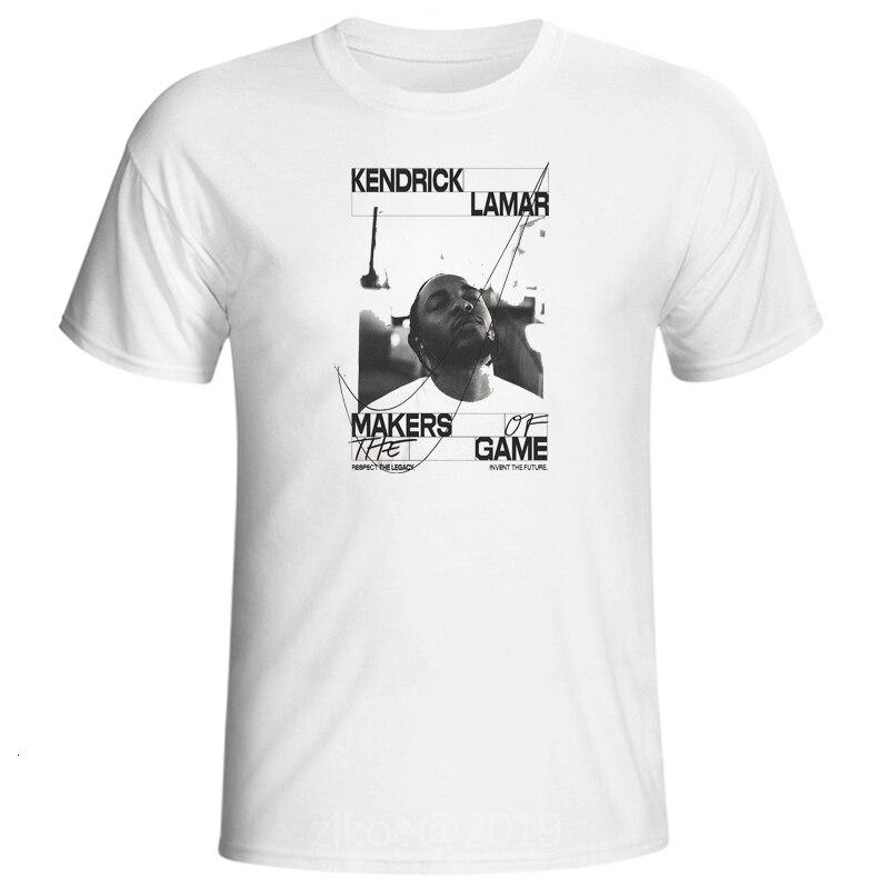 Мужские футболки 2Pac с принтом Kendrick Lamar, футболка с коротким рукавом и круглым вырезом, летняя повседневная футболка в американском стиле, Swag ...