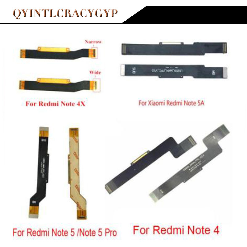 New Main <font><b>Motherboard</b></font> Connector LCD Display Flex Cable For <font><b>XiaoMi</b></font> Mi 5X A1 6X A2 <font><b>Redmi</b></font> 5 Plus 4A 4 Pro Note 4 <font><b>4X</b></font> Global 5 5A image