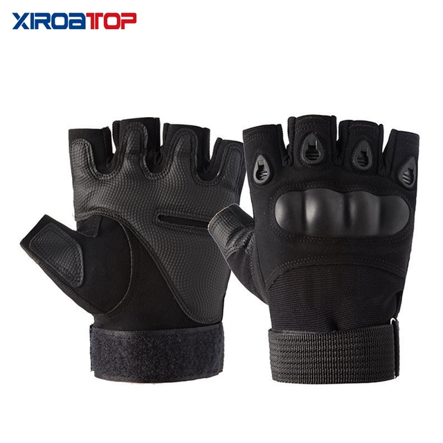 Hot Sale 2020 Men Women Outdoor Sport Tactical Gloves Airsoft  Half Finger Gloves Military Combat Gloves Shooting Hunting Gloves 4