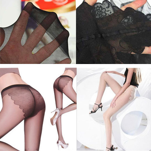 Sexy Women Bikini Charm Tights Pantyhose Sheer Rayon Stockings Skinny Leggings 1