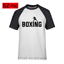 2019 hot sale t-shirt mens The Boxing Fighter ALI Cono Anime funny t-shirt Summer T Shirt ALI Cono Cool Tshirts Tops Tees Homme(China)