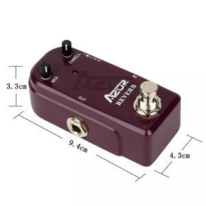 Image 5 - AZOR AP311 Reverb Đàn Guitar Mini Tác Dụng Bàn Đạp Reverb Đàn Guitar Mini Đạp 9V Phần Guitar Phụ Kiện Reverb Đạp Chân Hiệu Quả