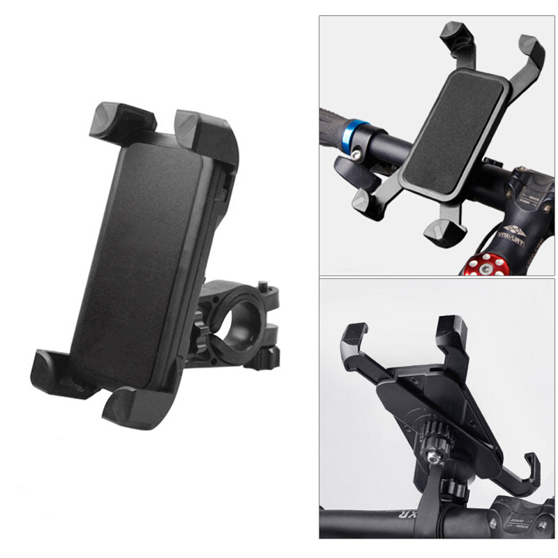 Tough Nylon Bike Phone Holder Adjustable Bicycle Mobile Phone Holder Non-slip Mobile Navigation Cycling Accessories