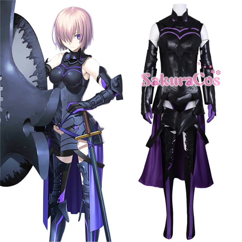 FGO//Fate Grand Order  Mash Kyrieligh Cosplay Costume Full Set Comic Con New