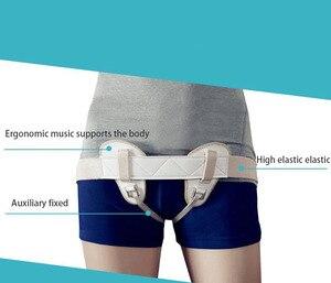 Image 4 - Home gesundheit liefert erwachsene inguinal hernie mit bandage unisex anti le hernie mit alten menschen