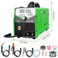 REBOOT MIG – Machine à souder 4 en 1, avec onduleur, sans gaz, pour noyau de Flux, 1KG/5KG, MIG160 ac 220v
