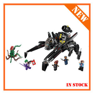 10635 70908 775Pcs Batman Movie Series The Scuttler Bat Spaceship Set Building Blocks Bricks Education Toys Gift 07056