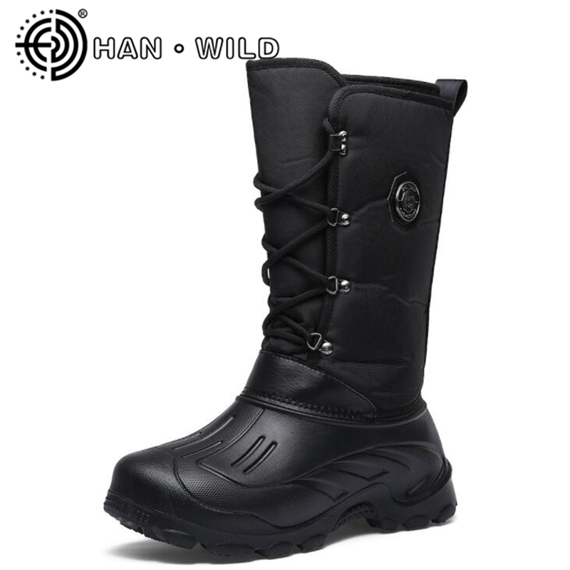 EVA Light Weight Snow Boots Winter Men's Skiing Shoes Outdoor Waterproof Fishing Boot Non-slip Male Winter Boots Keep Warm Shoes