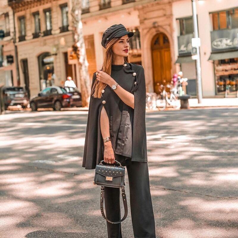 Image 3 - Sheinside czarne proste spodnie z wysokim stanem letnie szerokie nogawki w pasie spodnie robocze damskie biurowa, damska jednokolorowe spodnieSpodnie i spodnie capri   -
