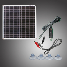 Module de cellule de panneau solaire efficace flexible de RG 20W 18V monocristallin