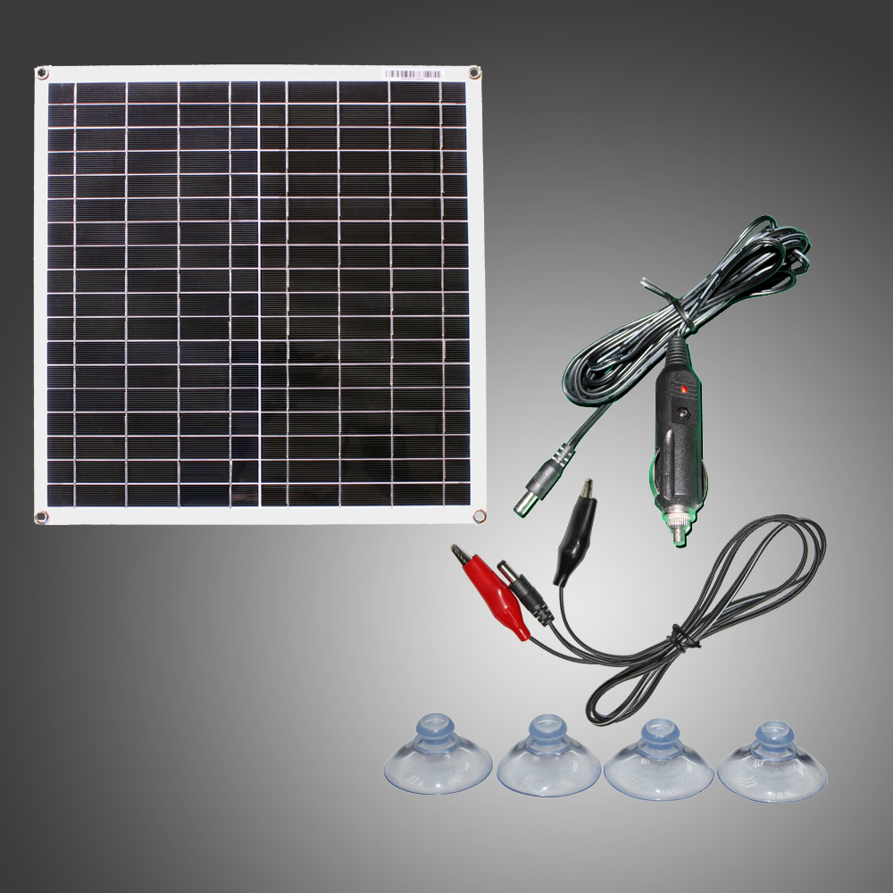 RG 20W 18V flexible efficient solar panel cell module Monocrystalline image