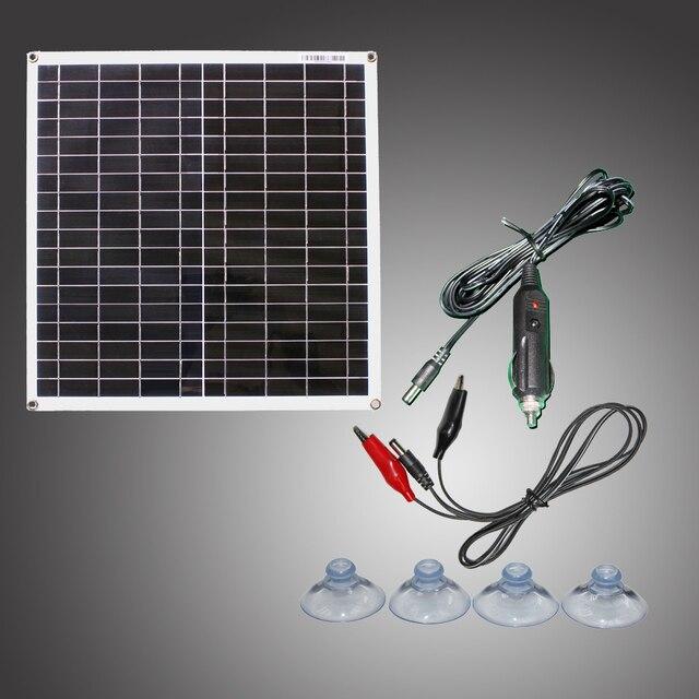 Rg 20W 18V Flexibele Efficiënte Zonnepaneel Mobiele Module Monokristallijn