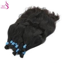Hair-Bundles Braiding-Hair Human Bulk Real Straight Beauty No-Weft Remy Peruvian